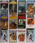Books:Pulps, Edgar Rice Burroughs. Group of Forty Five Miscellaneous Books. NewYork and elsewhere: [various dates]. Paperback editio... (Total: 45Items)