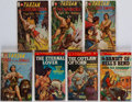 Books:Pulps, Edgar Rice Burroughs. Group of Seven Paperback Books. London:Pinnacle, [circa 1958].... (Total: 7 Items)