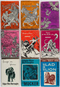 Books:Science Fiction & Fantasy, Edgar Rice Burroughs. Group of Seventeen Titles. New York:Canaveral Press, 1962-1964.... (Total: 17 Items)