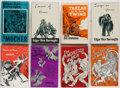Books:Science Fiction & Fantasy, Edgar Rice Burroughs. Group of Eight Books. New York: Canaveral Press, 1962-1974.... (Total: 8 Items)