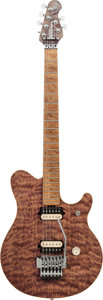 Musical Instruments:Electric Guitars, 1991 Music Man Natural Solid Body Electric Guitar, Serial # 80275,Weight: 7.4 lbs....