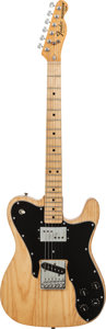 Musical Instruments:Electric Guitars, 1978 Fender Telecaster Custom Natural Solid Body Electric Guitar,Serial # S815186, Weight, 8.2 lbs....