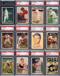 Baseball Cards:Sets, 1957 Topps Baseball Complete Set (407) With Bakep Error. ...