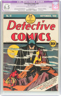 Golden Age (1938-1955):Superhero, Detective Comics #31 Trimmed (DC, 1939) CGC Apparent FN+ 6.5 Moderate (P) Off-white to white pages....