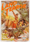 Books:Pulps, Edgar Rice Burroughs. Land of Terror. Tarzana: Edgar RiceBurroughs, Date. First edition....
