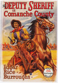 Books:Pulps, Edgar Rice Burroughs. The Deputy Sheriff of Comanche County.Tarzana: Edgar Rice Burroughs, [1940]. First edition....