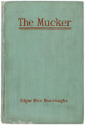 Books:Pulps, Edgar Rice Burroughs. The Mucker. Chicago: A. C. McClurg& Co., 1921. First edition....