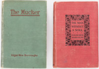 Edgar Rice Burroughs. The Mucker. Chicago: A. C. McClurg & Co., 1921. [and:] The Man with