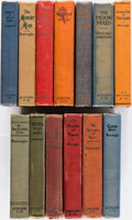 Books:Pulps, Edgar Rice Burroughs. Group of Thirteen Books. Chicago: A. C.McClurg, 1919-1925. First editions.... (Total: 13 Items)