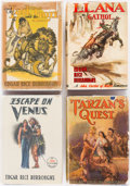 Books:Science Fiction & Fantasy, Edgar Rice Burroughs. Group of Four Books. Tarzana: Edgar RiceBurroughs, 1936-1938. First editions.... (Total: 4 Items)