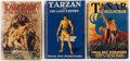 Books:Science Fiction & Fantasy, Edgar Rice Burroughs. Group of Three Books. New York: Metropolitan Books, [1929-1930]. First editions. ... (Total: 3 Items)