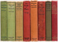 Books:Science Fiction & Fantasy, Edgar Rice Burroughs. Group of Eight Books. Chicago: A. C. McClurg & Co., 1920-1923. Seven first editions, one reprint editi... (Total: 8 Items)