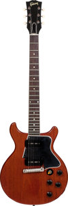 Musical Instruments:Electric Guitars, 1960 Gibson Les Paul Special Cherry Solid Body Electric Guitar,Serial # 0 6320, Weight: 7.4 lbs....