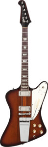 Musical Instruments:Electric Guitars, 1964 Gibson Firebird V Sunburst Solid Body Electric Guitar, Serial# 171984, Weight: 7.6 lbs....