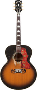 Musical Instruments:Acoustic Guitars, 1955 Gibson J-200 Sunburst Acoustic Guitar, Serial # A22362....