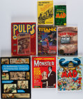 Books:Pulps, [Pulps]. [Comic Books]. Group of Eight Anthologies. New York andelsewhere: 1963-2005.... (Total: 8 Items)