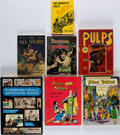Books:Pulps, [Comics]. [Pulp Fiction]. Group of Seven Books. New York and elsewhere: 1970-2002.... (Total: 7 Items)