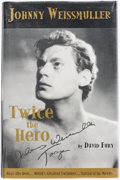 Books:Biography & Memoir, David Fury. Johnny Weissmuller: Twice the Hero. Minneapolis:Artist's Press, [2000]. First edition, limited to 5...