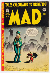 MAD #3 (EC, 1953) Condition: GD/VG
