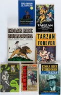 Books:Biography & Memoir, [Edgar Rice Burroughs]. Group of Seven Biographical Titles in EightBooks. New York and elsewhere: 1967-2003. Five first edi... (Total:7 Items)