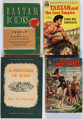 Books:Science Fiction & Fantasy, Edgar Rice Burroughs. Group of Four Books. New York and elsewhere: [1938-1950]. Paperback editions.... (Total: 4 Items)