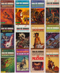 Books:Science Fiction & Fantasy, Edgar Rice Burroughs. Group of Thirty-Nine Books. New York: Ballantine Books, [1963-1966]. Paperback editions.... (Total: 39 Items)