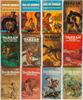 Books:Science Fiction & Fantasy, Edgar Rice Burroughs. Group of Fifty-One Books. New York: Ballantine Books, [1963-1973]. Paperback editions.... (Total: 51 Items)