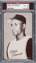 Baseball Cards:Singles (1940-1949), 1947 - 1966 Exhibit Roberto Clemente PSA NM-MT 8 - Only One Higher....