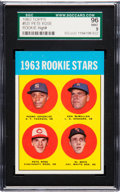 Baseball Cards:Singles (1960-1969), 1963 Topps Pete Rose - 1963 Rookie Stars #537 SGC 96 Mint 9. ...