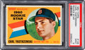 Baseball Cards:Singles (1960-1969), 1960 Topps Carl Yastrzemski #148 PSA Mint 9 - Only One Higher....