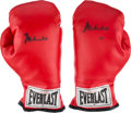 Boxing Collectibles:Memorabilia, 1980's Muhammad Ali Signed Boxing Gloves....