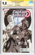 Modern Age (1980-Present):Superhero, Captain America: Sam Wilson #7 ComicCon Box Sketch Edition -Signature Series (Marvel, 2016) CGC NM/MT 9.8 White pages....