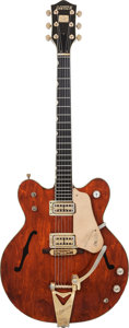 Musical Instruments:Electric Guitars, 1971 Gretsch Country Gentleman Brown Semi-Hollow Body ElectricGuitar, Serial # 81123, Weight: 8.6 lbs....