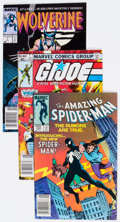 Modern Age (1980-Present):Superhero, Marvel Modern Age Superhero Comics Group of 34 (Various Publishers,1980s-90s) Condition: Average VF.... (Total: 34 Comic Books)