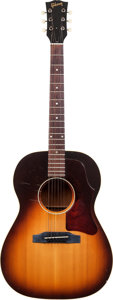 Musical Instruments:Acoustic Guitars, 1964 Gibson LG-1 Sunburst Acoustic Guitar, Serial # 240658....