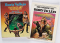 Books:Art & Architecture, Boris Vallejo. The Fantastic Art of Boris Vallejo. New York: Ballantine Books, [1978]. [and:] Fantasy Art Techni... (Total: 2 Items)