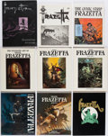 Books:Art & Architecture, Frank Frazetta. Group of Nine Books and Periodicals. New York and elsewhere: [1969]-1996.... (Total: 9 Items)