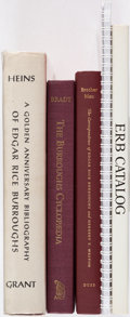 Books:Reference & Bibliography, [Edgar Rice Burroughs]. Group of Five Reference Books. London and elsewhere: 1964-2005. Four first editions, one complete re... (Total: 5 Items)