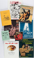 Books:Reference & Bibliography, [Edgar Rice Burroughs]. [Collecting]. Group of Nine ReferenceBooks. Spokane, WA and elsewhere: [1989-2003]. Six first editi...(Total: 9 Items)