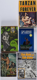 Books:Biography & Memoir, [Tarzan]. Group of Five Biographies. [New York and elsewhere:1964-2003]. First editions.... (Total: 5 Items)