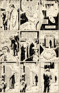Original Comic Art:Panel Pages, Dave Gibbons Watchmen #2 Story Page 19 Original Art (DC, 1986)....
