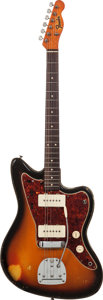 Musical Instruments:Electric Guitars, 1962 Fender Partsmaster Sunburst Solid Body Electric Guitar, Serial# 54966, Weight: 8.8 ....
