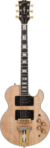 Musical Instruments:Electric Guitars, 1973 Gibson L5-S Natural Solid Body Electric Guitar, Serial #040837, Weight: 8.4 lbs....