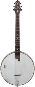 Musical Instruments:Banjos, Mandolins, & Ukes, Circa 1919 Gibson CB/GB6 Conversion Natural Banjo Guitar....
