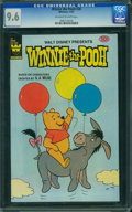 Modern Age (1980-Present):Cartoon Character, Winnie the Pooh #26 (Gold Key/Whitman, 1981) CGC NM+ 9.6 Off-white to white pages.