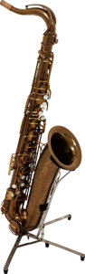 Musical Instruments:Horns & Wind Instruments, 1946 Martin Committee Model Tenor Saxophone, Serial # 152180....