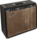 Musical Instruments:Amplifiers, PA, & Effects, 1964 Fender Pro Amp Black Guitar Amplifier, Serial # A02511....