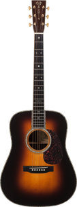 Musical Instruments:Acoustic Guitars, 2003 Martin D-45 Natural Acoustic Guitar, Serial # 933732....