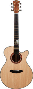Musical Instruments:Acoustic Guitars, 2012 Laurie Williams Natural Acoustic Guitar, Serial # 12165....