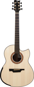 Musical Instruments:Acoustic Guitars, Late 2000's Michael Greenfield GF Natural Acoustic Guitar, Serial # 232....